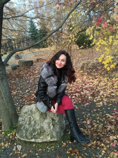 Irina aus Rumänien